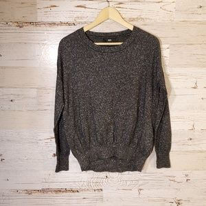Mossimo Supply Co metallic sweater top
